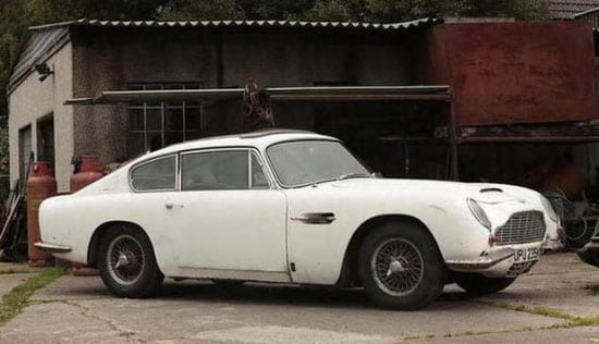 The barn find Aston Martin DB6 Vantage