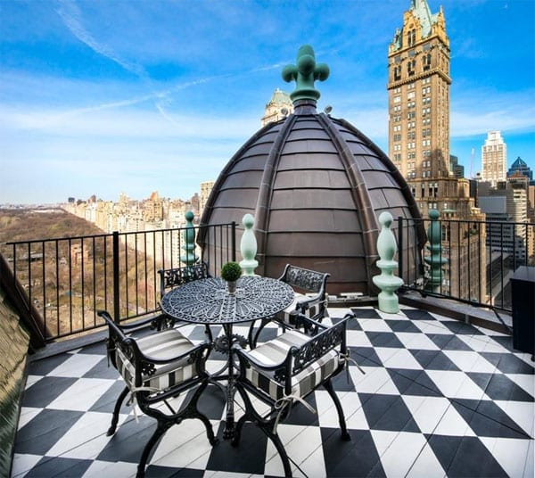 Trumping Tommy – The Dome Penthouse, Apartment 1809, The Plaza Hotel, One Central Park South, Between Central Park South and Avenue of the Americas, New York, New York City, NY 10019, United States of America –