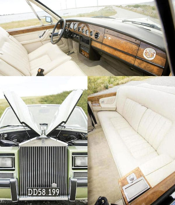 A convertible giant – One-off 1973 Rolls-Royce Phantom VI by Pietro Frua