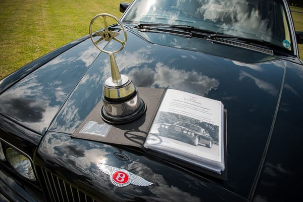 The car won its class at the BDC Annual Concours and the Best Crewe Car in 2014