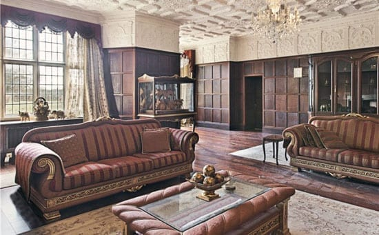"The drawing room's furnishings would not look out of place on the Fox show ""Meet The Russians"""