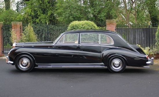 The former Percy Shaw Rolls Royce Phantom V limousine is in excellent condition