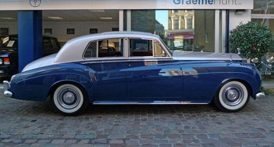 The former Prince Chula 1960 Rolls-Royce Silver Cloud II represents great value at just £55,000