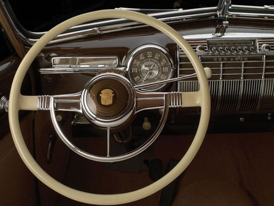 The front compartment of the car was designed so that when he chose the Duke of Windsor could drive in comfort