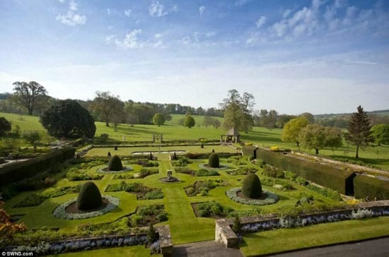 The gardens are said to be spectacular and were designed by Lutyens