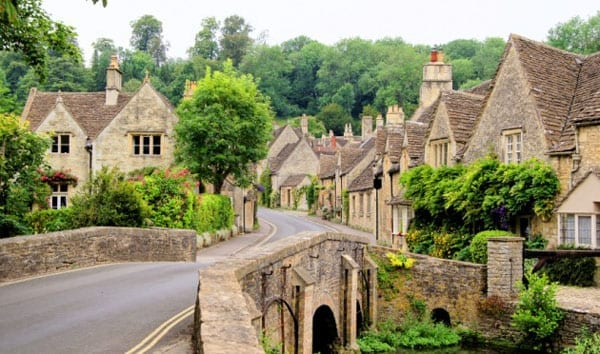 The idyll of the Cotswolds was ruined for one visitor