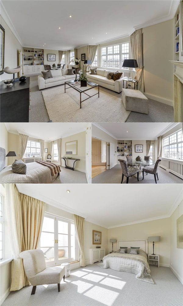 Live above La Brasserie – Penthouse, Crompton Court, 272 – 276 Brompton Road, London, SW3 2AW – £2.995 million