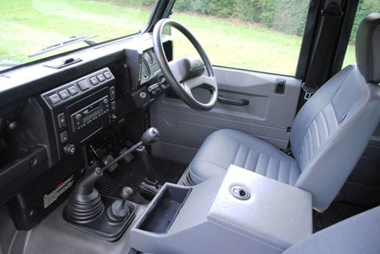 The interior includes such features as heated seats