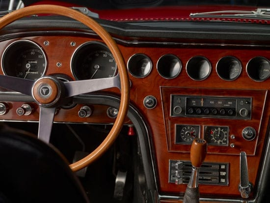 The interior is surprisingly opulent by modern day Toyota standards