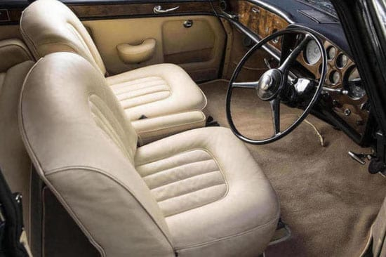 The interior of the car is in excellent condition