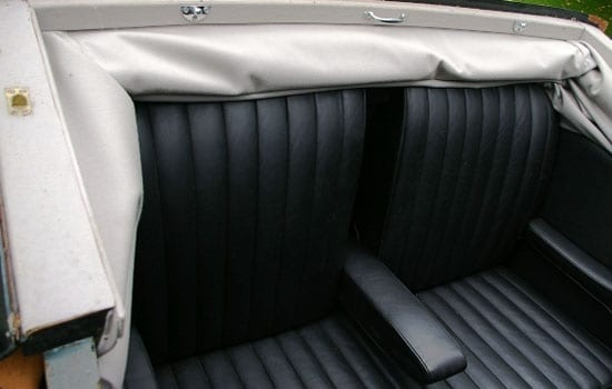 "The landaulet hood is said to be ""in good order and fully functional"""