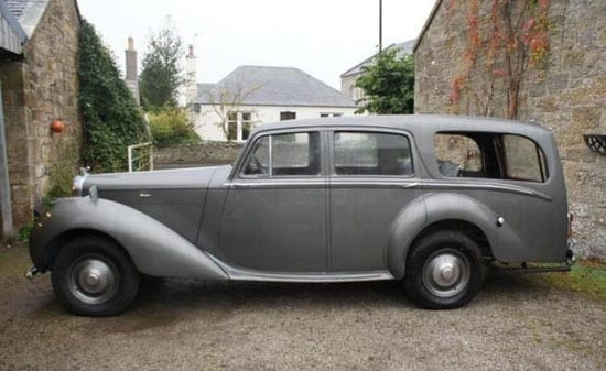 The late Sir John Mills was the first owner of this 1948 Bentley