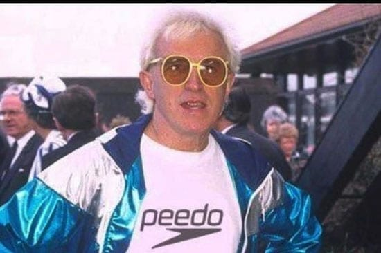 The late paedophile Jimmy Savile promised to reek havoc if he was ever accused