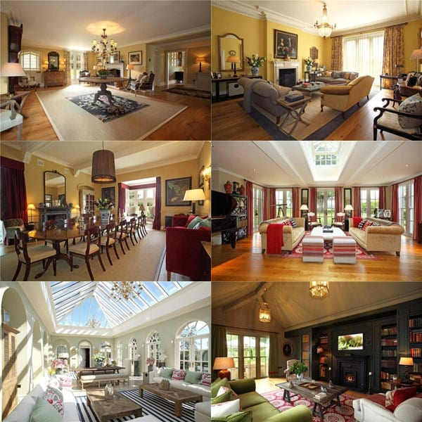 The main house is clearly designed for entertaining