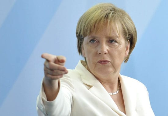 The only real winner in the Euro elections was Angela Merkel