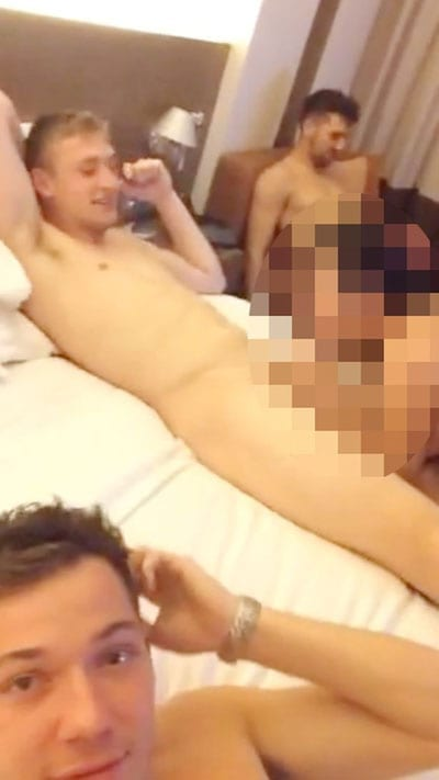 Racist orgy Leicester City players Tom Hopper, James Pearson and Adam Smith should be sacked