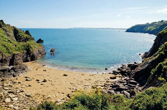 The property benefits from its own private beach