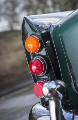 The rear lights are superbly styled