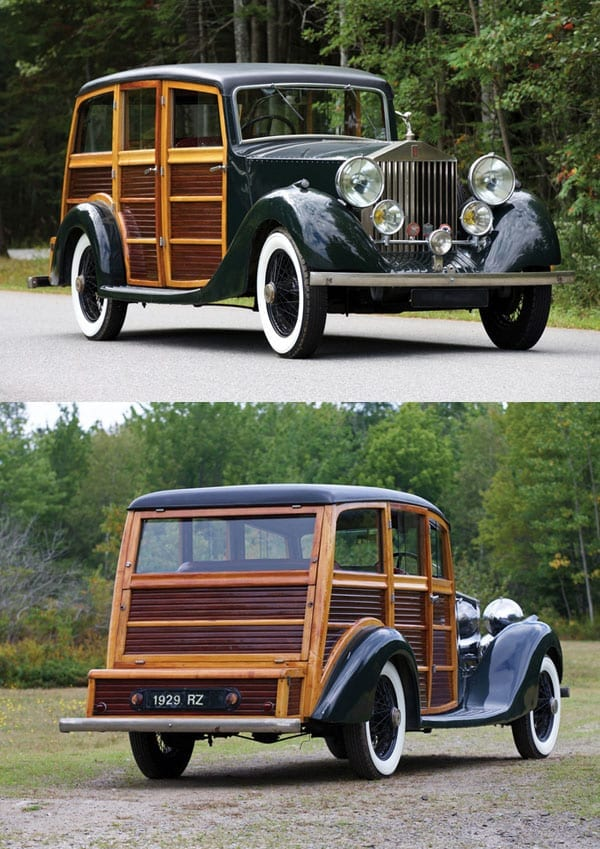 "Hunting a Rolls – ""High-classic utility"" Rolls-Royce heads to auction – 1929 Rolls-Royce 20HP shooting brake by Alpe & Saunders"