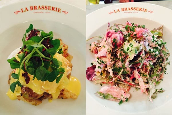 A two-course feast – La Brasserie set menu – March 2016
