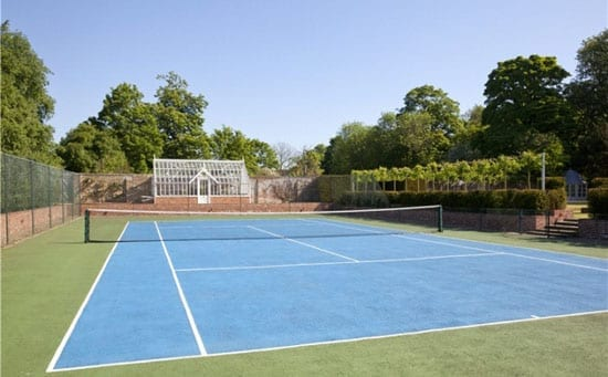 Within the grounds there is also an all-weather tennis court