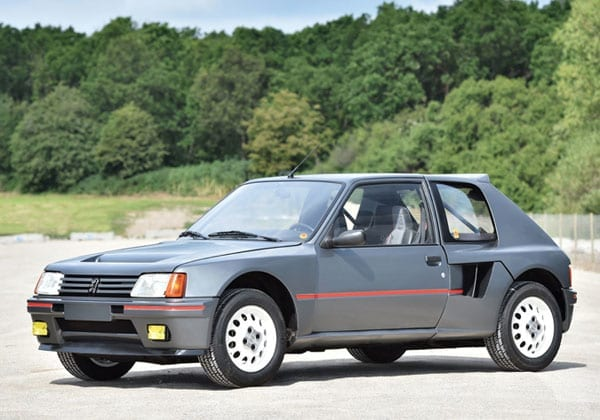 The true wildcard at the Battersea sale was this 1984 Peugeot 205 Turbo 16