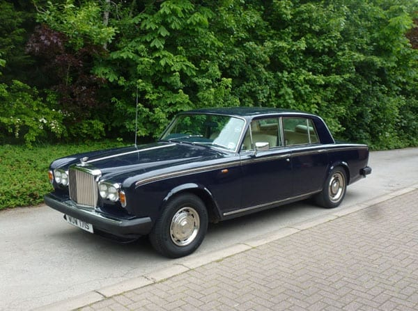 A three grand Bentley - 1978 Bentley T2 for sale for just £3,000 to £4,000 - Owned by His Excellency Hatim Sharif Zu'Bi Hon., G.B.E. since 1983