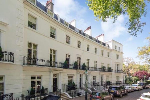 This Egerton Crescent house will set back whoever rents it nearly £1 million per year