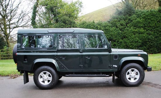 This former Sandringham Land Rover is for auction on the 8th March