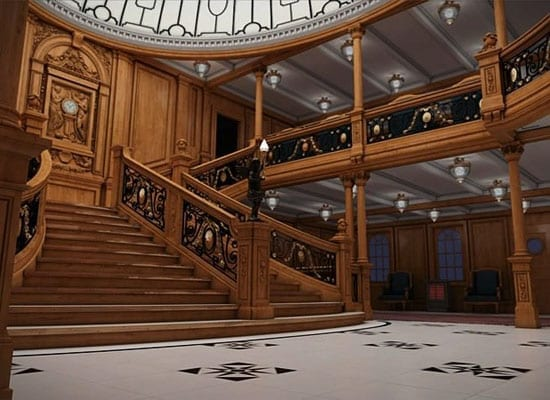 A replica of the RMS Titanic's Grand Staircase will be created on the Titanic II
