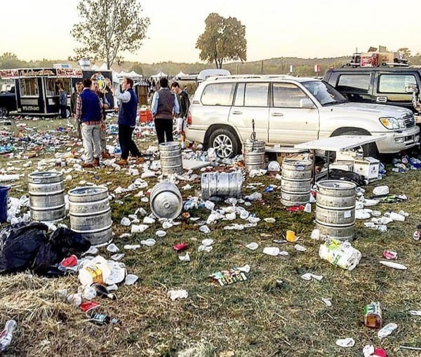 Picture of the Week – Tailgating Par Excellence – 96th Far Hills Running Race Meeting in New Jersey – Guest of a Guest