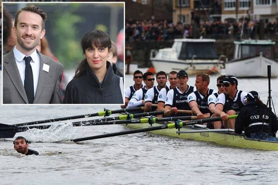 Trenton Oldfield served six weeks of a six month sentence after wrecking the 2012 Oxford-Cambridge boat race