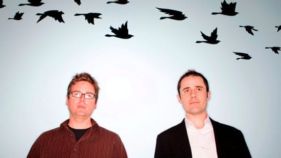 Twitter founders Biz Stone and Evan Williams