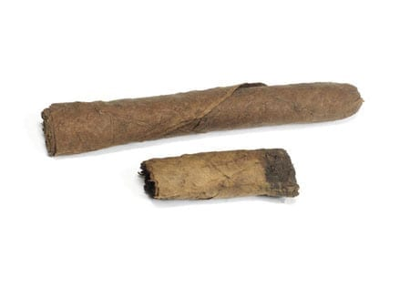 Two of Sir Winston Churchill's cigars