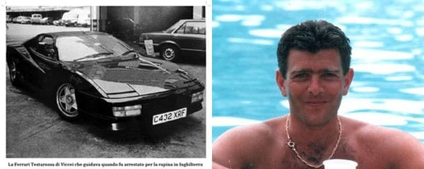 Valerio Vicceri was a playboy turned bank robber