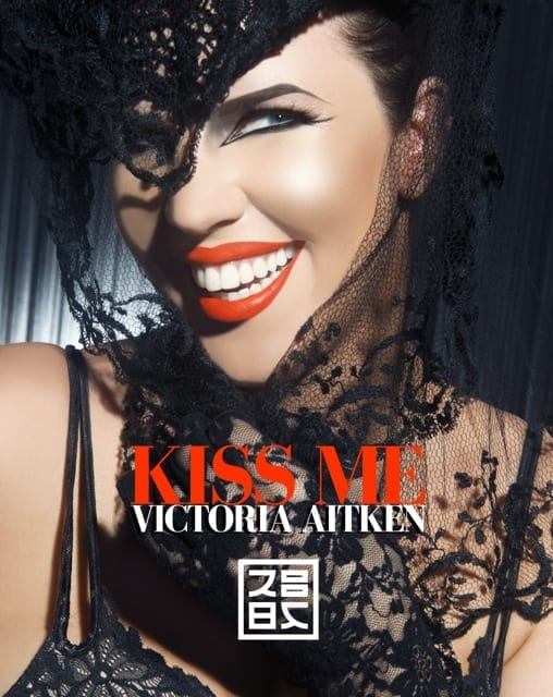 "The cover for Victoria Aitken's ""Kiss Me"" single"