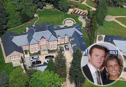 Wayne Rooney mansion 1