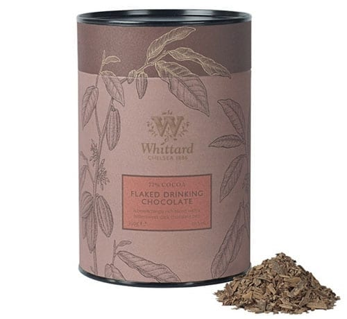 Whittard 77% flaked drinking chocolate
