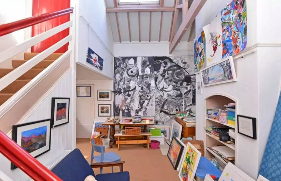 "Waterside Wixels – Stunning converted sail loft and ""local landmark"" in ""the best position"" in Topsham, Devon for sale for £3.5 million – £3.5 million for Wixels, Ferry Road, Topsham, Devon, EX3 0JH, United Kingdom through Knight Frank."
