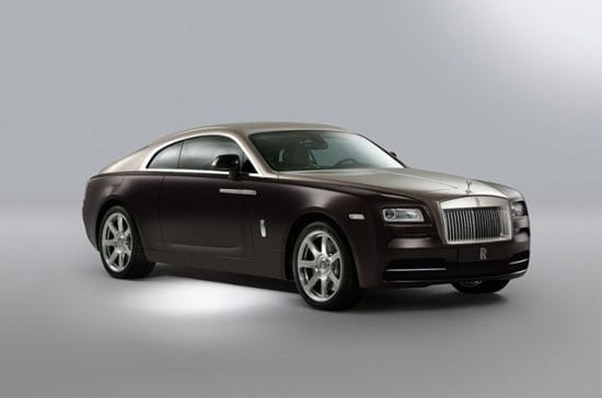 The front of the Wraith
