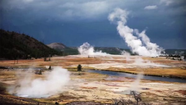 The film is set in the beautiful Yellowstone National Park