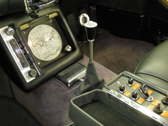 Advanced for its years, there is even a Sat Nav system and all manner of other special features