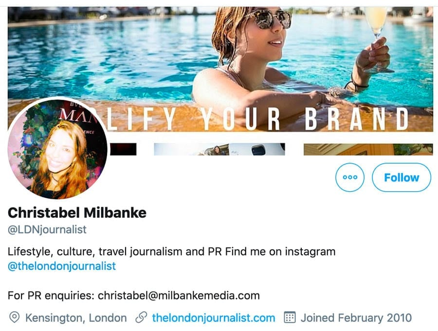 Moron of the Moment – Christabel Milbanke – Annoying pest Christabel Milbanke is confirmed as a fruitcake and someone best avoided.