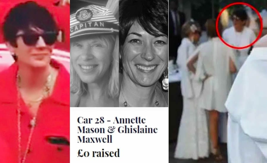 Cash, Rocket and a Madam – Why won't the Cash & Rocket 'charity' answer a simple question about their past participant, the madam to a paedophile Ghislaine Maxwell? Will Ghislaine Maxwell be participating this year?