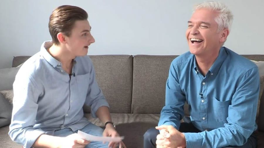SchofieldLite – Phillip Schofield and Matt McGreevy – 'Politicalite' suggest Phillip Schofield orchestrated his 'mass coming out' after a former 'This Morning' runner had gone to the press about a supposed relationship whilst he was a teenager.