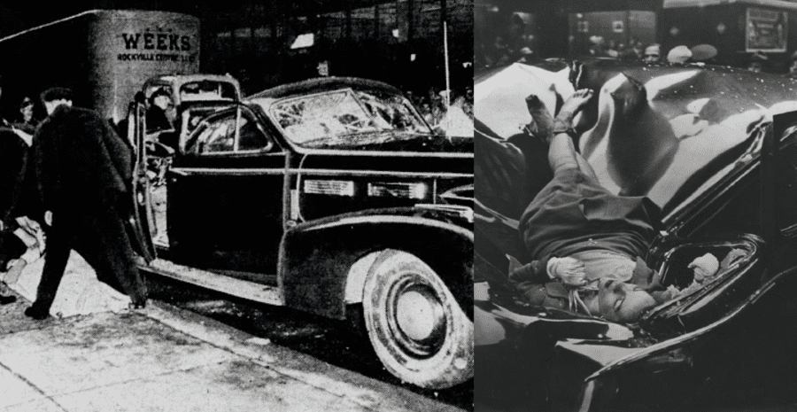 "Evelyn McHale (1923 – 1947) – Little is known about what drove Evelyn McHale to jump from the Empire State Building and be captured in the ""most beautiful suicide [photograph] ever"" on 1st May 1947."