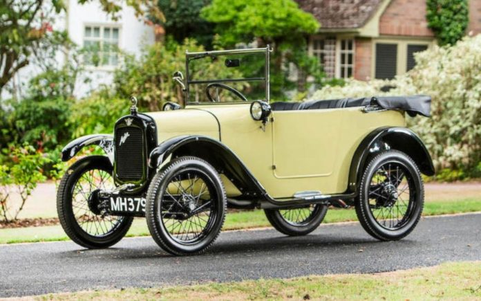 A Chummy Tourer – Dinky 1925 Austin Seven 'Chummy' Tourer to be sold at Bonhams' Beaulieu sale for less than it cost to buy and restore on 1st September 2018 – Estimate of £19,000 to £25,000 ($24,400 to $32,100, €21,000 to €27,600 or درهم89,600 to درهم117,900).