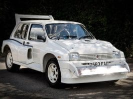 A Mega Priced Metro– 1985 MG Metro 6R4 to be auctioned with an estimate of £180,0000 to £200,000 ($227,000 to $253,000, €200,000 to €222,000 or درهم835,000 to درهم928,000) on 12th January 2019 through Silverstone Auctions at their Autosport International Sale 2019 at the NEC, Birmingham.