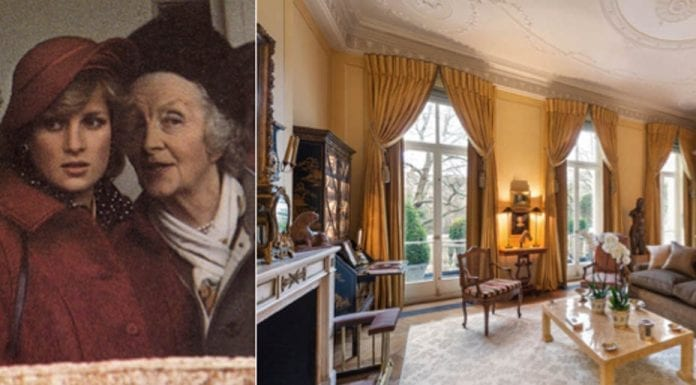 You Can Say That If You Like – Flat D, 36 Eaton Square, Belgravia, London, SW1W 9DH – For sale for £7.95 million ($9.90 million, €9.38 million or درهم36.38 million) through Knight Frank – Home of brewery baron and politician The Rt. Hon. George Younger, 1st Viscount Younger of Leckie (1851 – 1929) and royal confidante and aristocrat Ruth Roche, The Rt. Hon. The Lady Fermoy, DCVO, OBE (1908 – 1993)