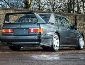 A muscular Mercedes – 1990 Mercedes-Benz 190 E 2.5-16 Evolution II – £140,000 to £160,000 – Silverstone Auctions – 27th February 2016 – Race Retro Classic Car Sale